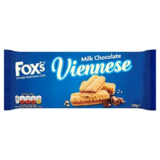 Foxs Chocolate Viennese Biscuits 120G