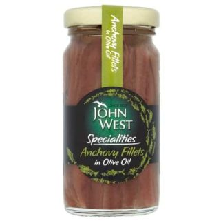 John West Anchovies In Olive Oil 100G