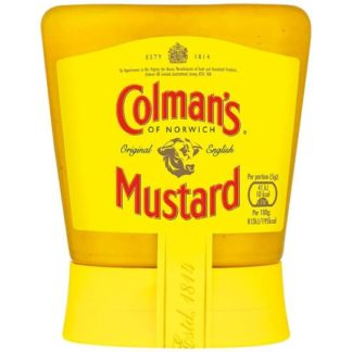 olman's Original English Squeezy Mustard 150G