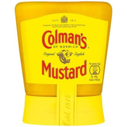 olman's Original English Squeezy Mustard 150G