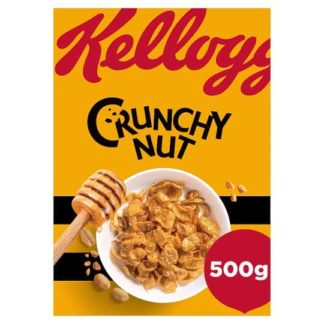 Kelloggs Crunchy Nut Corn Flakes Cereal 500G-min