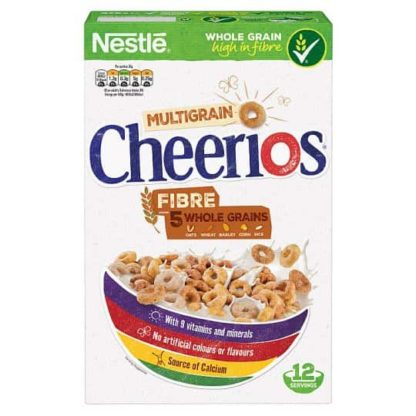Nestle Cheerios Multigrain Cereal 375G