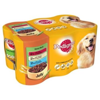 Dog Food in Tins